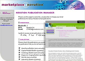Novation Publication Initiative